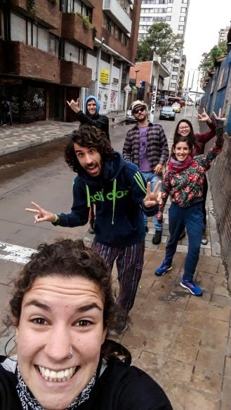 Caminata por La Candelaria