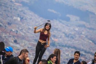 Selfie Time a full en la cima del Cerro Monserrate