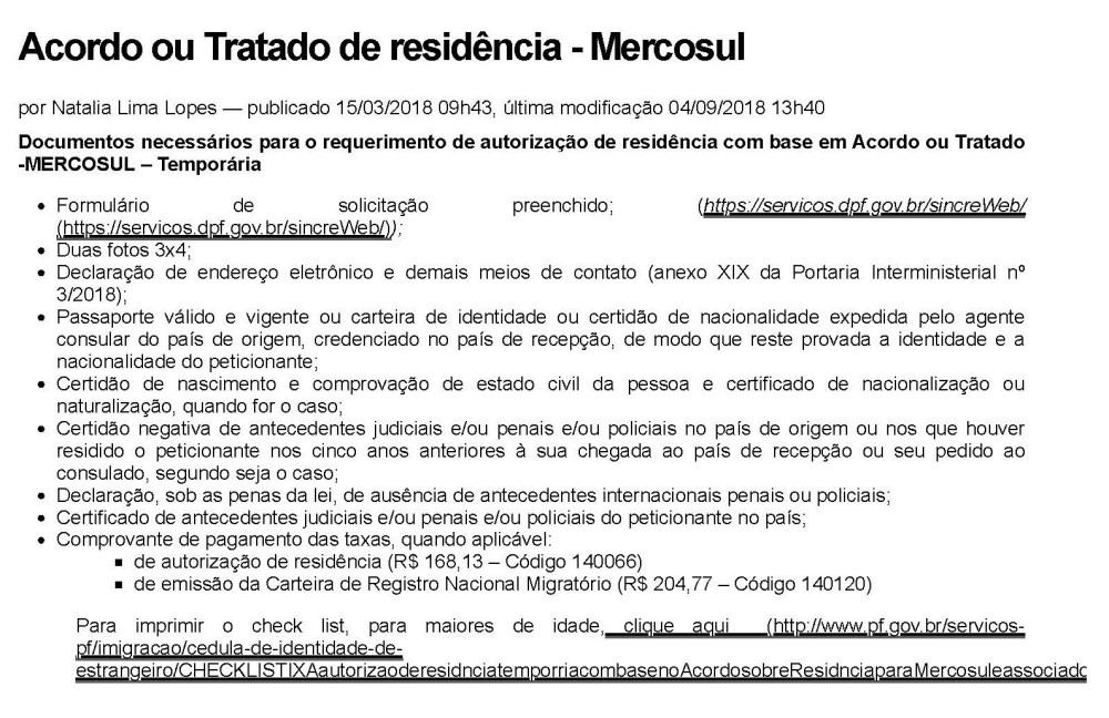 Acordo ou Tratado de residência - Mercosul — Polícia Federal_Página_1